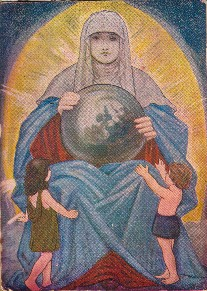 The Holy Spirit or Divine Mother